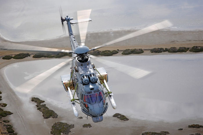 Helibras completed the first stage of in-laboratory tests this week to integrate Exocet AM39 missiles with the Naval Mission System developed for the Brazilian Navy's H225M / EC725