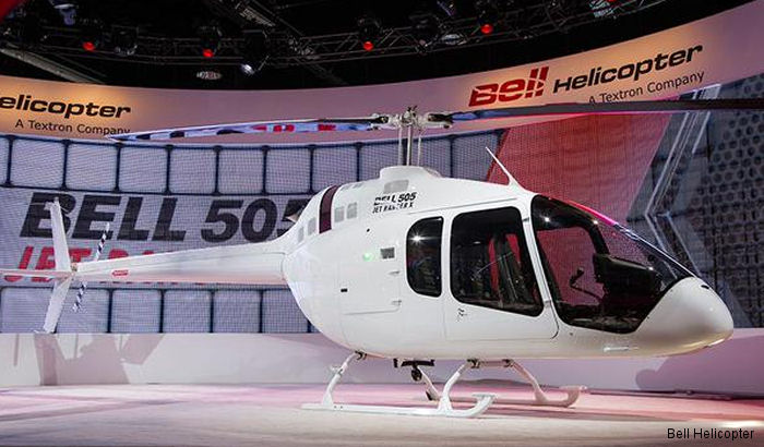 Bell Helicopter Launches Bell 505 for Russian Market at HeliRussia