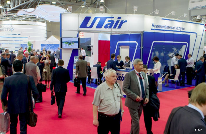 From May 21 to 23 UTair Group companies took part in the eighth International Helicopter Industry Exhibition HeliRussia 2015.