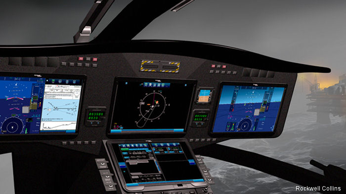 The Rockwell Collins Pro Line Fusion integrated avionics system demonstrator will be showcased for the first time at the Helitech International Helicopter Expo and Conference 2015 in London.
