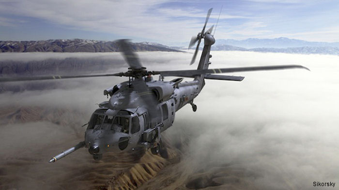 Rockwell Collins was selected to provide state-of-the art avionics and mission equipment to the next generation U.S. Air Force Combat Rescue Helicopter (CRH) program HH-60W