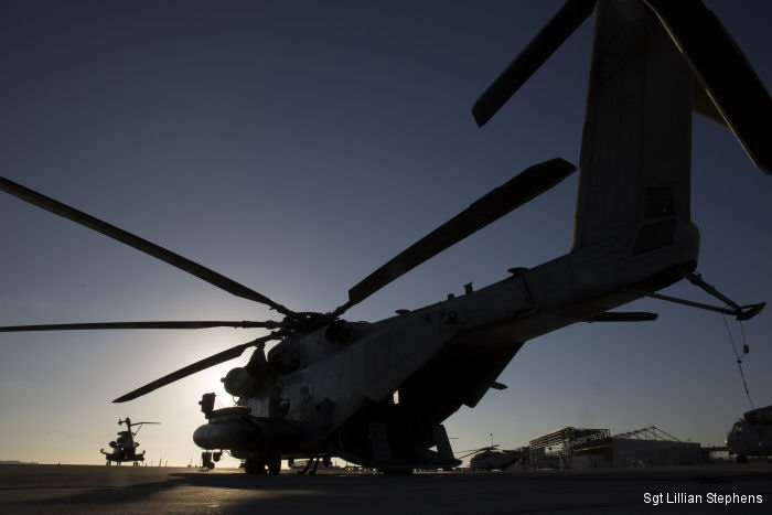 HMH-466 Wolfpack Marines take to the skies