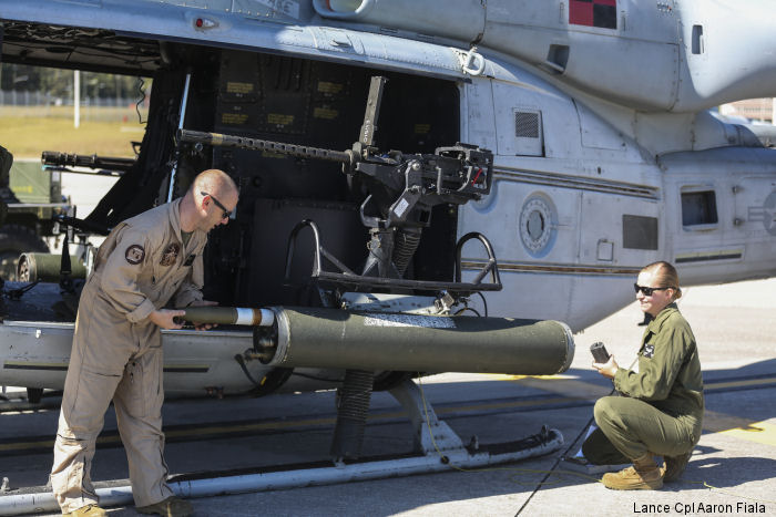 HMLA-167 conduct support training