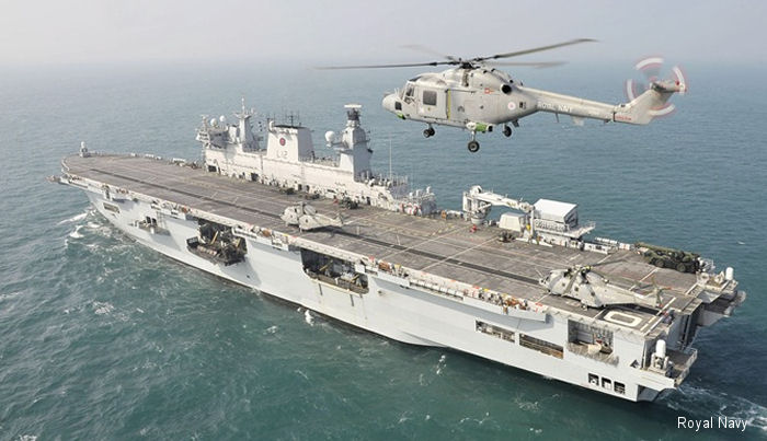 HMS Ocean, Royal Navy helicopter carrier and largest active ship, will shortly assume the duties of Fleet Flagship.