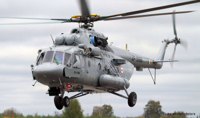 By the end of 2015 Russian Helicopters will deliver the last three of 151 military transport Mi-17V5 helicopters to India to complete the  contract.
