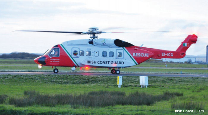 Ireland Coast Guard reaches 1000 helicopter rescue missions in a single year; the first time since the Coast Guard's helicopter service commenced in 1991.