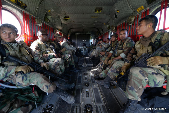 US Army in Belize for Counter-Drug Operation Caracol