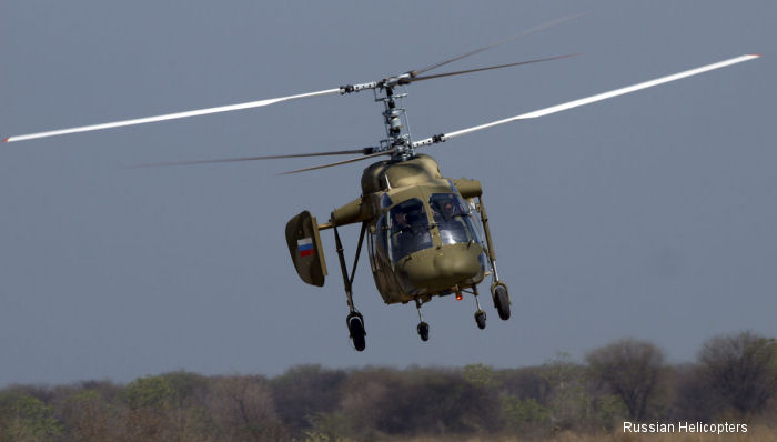 India approved the Ka-226T light helicopter for its armed forces. Russian Helicopters is awaiting official communication from the Indian side regarding the deal.