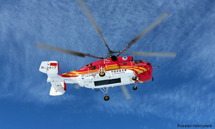 Russian Helicopters has delivered nine Ka-32A11BC helicopters to China, where they will be operated by public security agencies and commercial companies.
