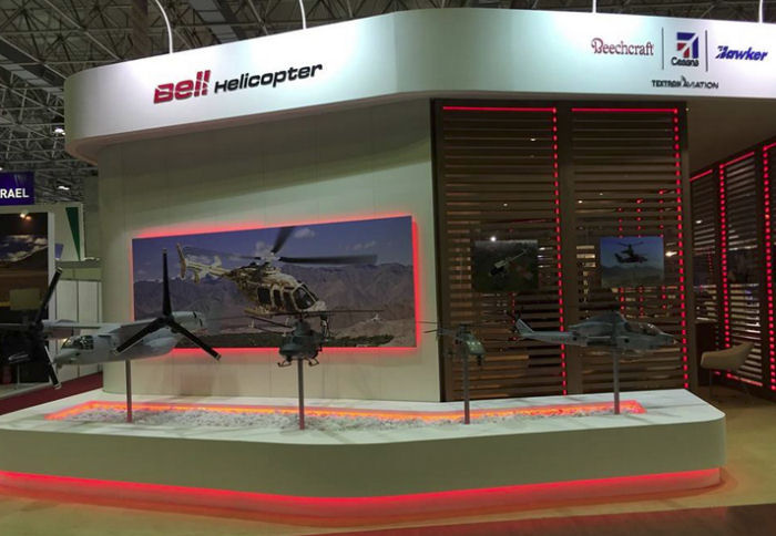 Bell Helicopter at LAAD 2015