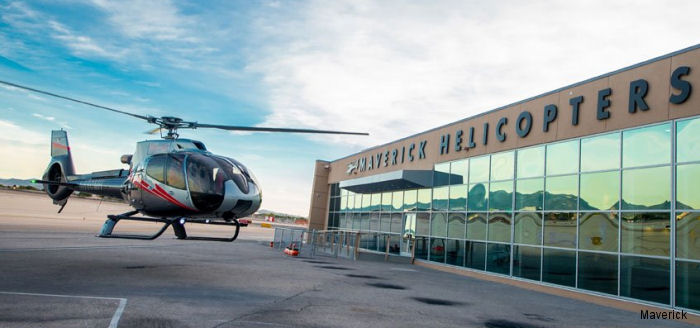 Maverick Helicopters unveiled its new $5 million Las Vegas terminal with a grand opening celebration