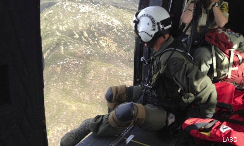 2014 Life Saving Record Year For LASD Search And Rescue Teams