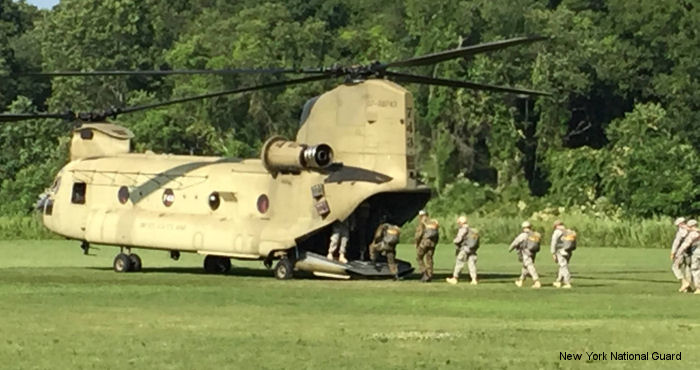 Rochester National Guard helicopters head to Rhode Island for international parachute competition: Leapfest competition support improves pilot, crew training proficiency