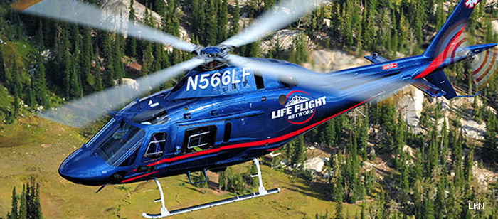 Life Flight Network (LFN), the largest not-for-profit air medical transport service in the United States will be opening a base for AW119Kx helicopter in Astoria, Oregon on May 15, 2015.