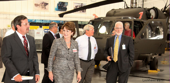 Lockheed Martin Chairman, President and CEO visited Sikorsky Headquarters in Stratford, Connecticut. The Sikorsky acquisition is expected to be completed by late 2015 or early 2016.