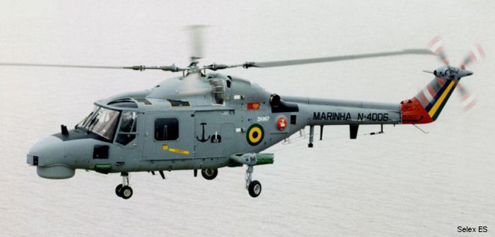 Brazilian Navy 8 Lynx Mk.21A will receive Selex ES SAGE electronic support measure along with the company's defensive aid suite controller and a third-party countermeasure dispensing system.