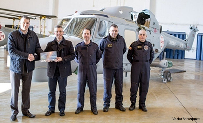 Portuguese Navy Mk.95 Lynx was in Fleetlands, UK for structural repairs together with a complete refinish of the airframe