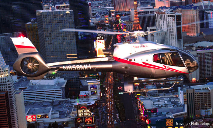 Maverick Helicopters gained its sixth consecutive award for Best Air Tour from the Southern Nevada Hotel Concierge Association's (SNHCA) Concierge Choice Awards in Las Vegas.