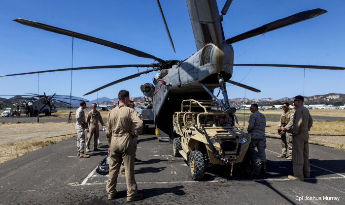The U.S. Marine Corps Warfighting Laboratory (MCWL) conducted a three-week experiment to test Internally Transportable Vehicles at Fort Hunter Liggett, California