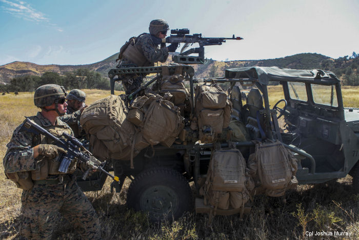 Warfighting Lab lightens load on infantry Marines