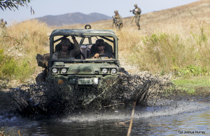 Marine Warfighting Lab Tests Vehicles