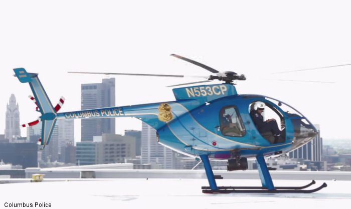 Columbus Police Invests In Revitalization Of Law Enforcement Aviation Unit Through MDHI-exclusive E-to-F Helicotper Conversion Program