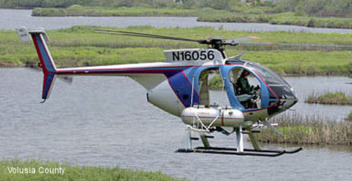 Volusia County Mosquito Control Orders New MD 520N Helicopter