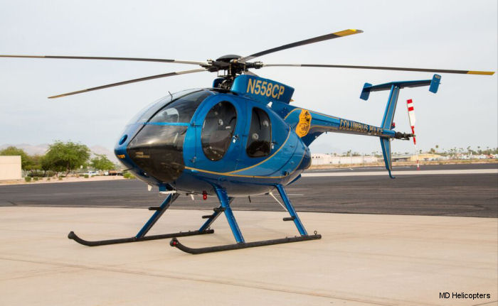 Two 2007 MD500E Columbus Police Department helicopters return to service as new, factory-built, FAA-certified MD530F models.