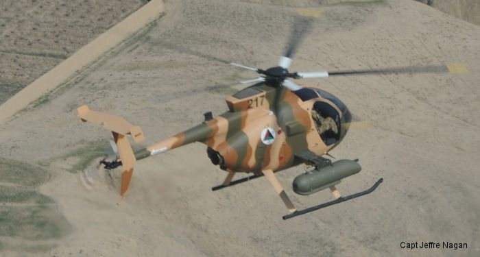 Afghan Air Force MD530F gunship helicopters made a successful combat debut against insurgents in Nangarhar Province.