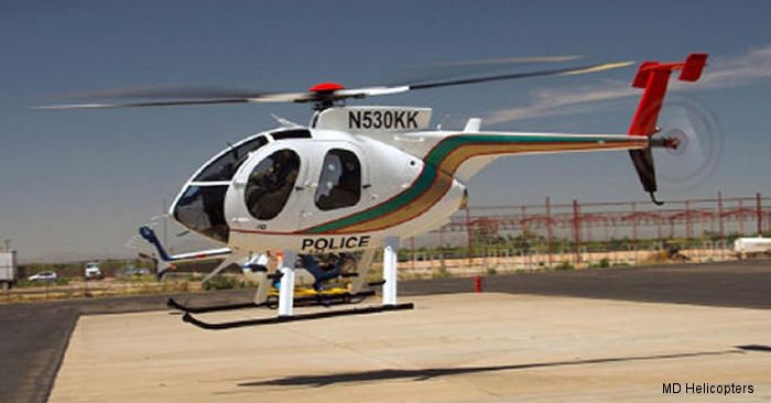 The Las Vegas Metropolitan Police Department (LVMPD) Aviation Unit will received a new custom-configured MD530F helicopter in October 2015