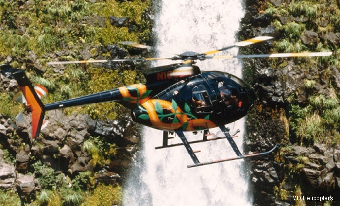 MD Helicopters (MDHI) announced the purchase of a new MD530F by Two Bear Air Rescue in Whitefish, Montana configured for Search and Rescue and to be delivered in 2016