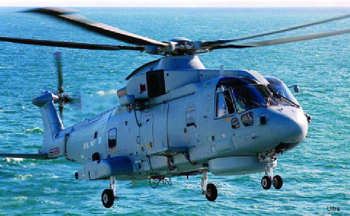 Ultra Electronics based in Greenford, Middlesex, has been awarded a £18m contract to supply sonobuoys for the Royal Navy's Merlin maritime patrol helicopter.
