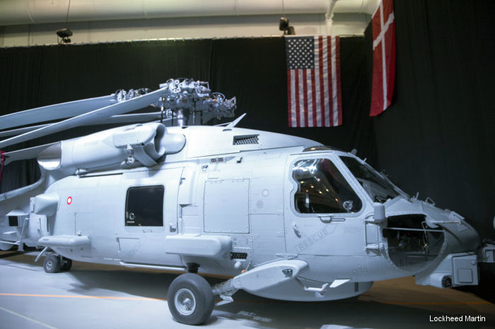 The U.S. Navy accepted the first MH-60R Seahawk helicopter slated for Denmark from Lockheed Martin. Will be delivered to the Royal Danish Air Force in 2016 and the full fleet of nine by 2018.