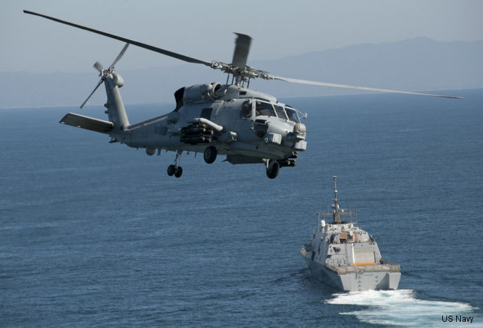 FMS contract to procure 10 green MH-60R helicopters for the Royal Saudi naval forces by October 2018