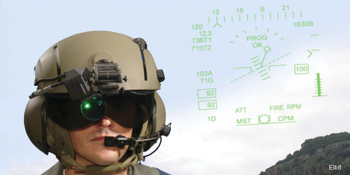 Elbit was awarded a contract from Science Applications International Corporation (SAIC) to evaluate the Elbit Color Helmet Display and Tracking System (CHDTS) on MH-60S Seahawk for the US Navy