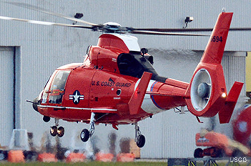 Acquisition Update: Coast Guard Tests Newest Version Of MH-65 Helicopter