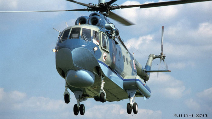Russian Helicopters showcases renewed production of amphibious Mi-14PS