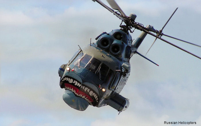 Renewed Production of Amphibious Mi-14PS