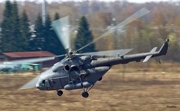 Russian Helicopters plans to deliver two MI-171 aircraft to China in 2016. The current Mi-171 fleet in China numbers about 150 aircraft.
