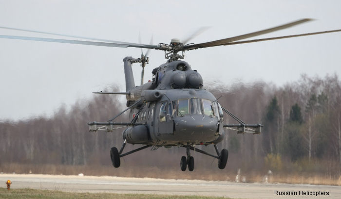 At the Army-2015 forum, Belarusian Defence Ministry signed for 12 Mi-8MTV-5 military transport helicopters to be delivered between 2016-2017.