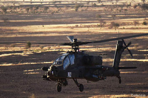A RNLAF's 301 Squadron AH-64D Apache, part of UN peacekeeping mission MINUSMA in Mali, crashed at 47km of the Dutch compound during a firing exercise