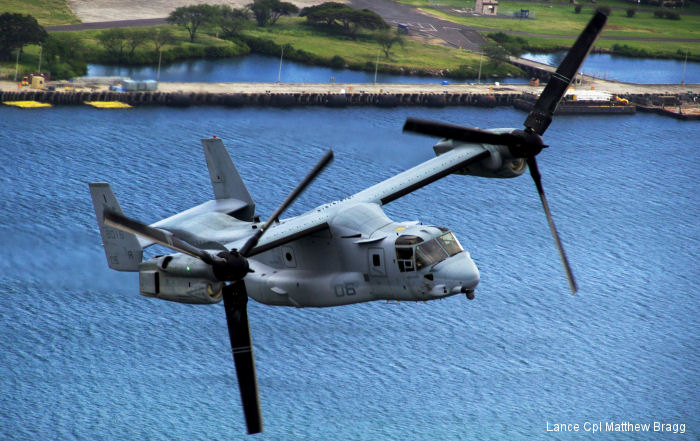 Hensel Phelps Construction Co will construct hangar, parking apron, and taxiway to support one MV-22 squadron at the Marine Corps Base Hawaii at Kaneohe Bay