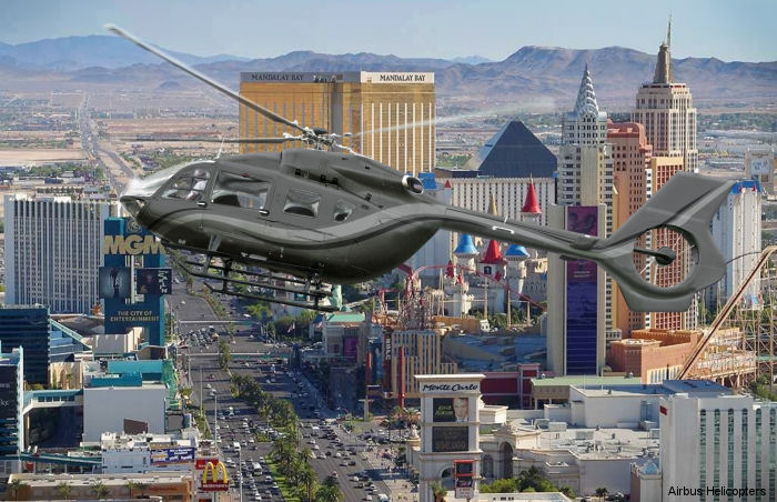 Luxurious Airbus Helicopters H145 on display at NBAA2015