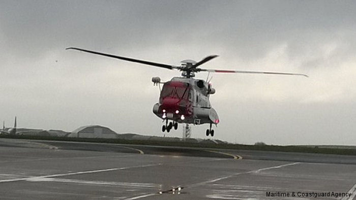 The launch of the Newquay civilian UK search and rescue (SAR) helicopter service was marked today in a ceremony held at the new Coastguard SAR base at Cornwall Airport Newquay.