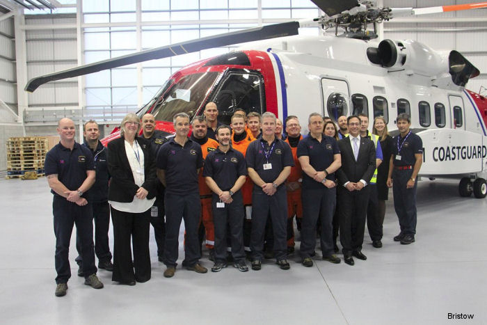 Newquay Search and Rescue Helicopter Service Launch Marked in Ceremony
