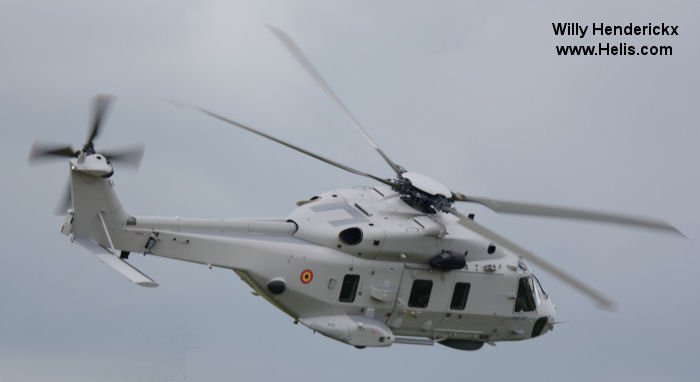 NHI celebrated today the Initial Operational Capability of the Belgian NH90s in the NHI pavilion during Paris Air Show.