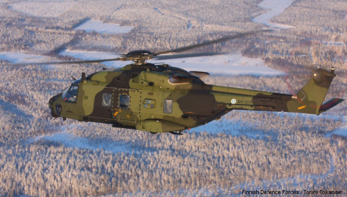 Airbus Helicopters and Patria, the company responsible for the local assembly of the NH90, delivered the 20th and last serial NH90 during a ceremony at Patria's facility in Halli, Finland