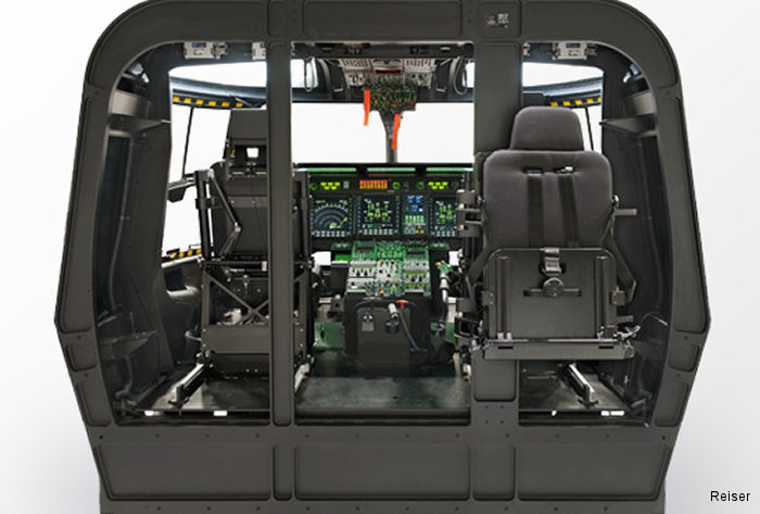 Simulation and Training business unit of Rheinmetall awarded by Germany's defence procurement agency an upgrade of the NH90 Cockpit Trainer to IOC+ configuration with additional software modules