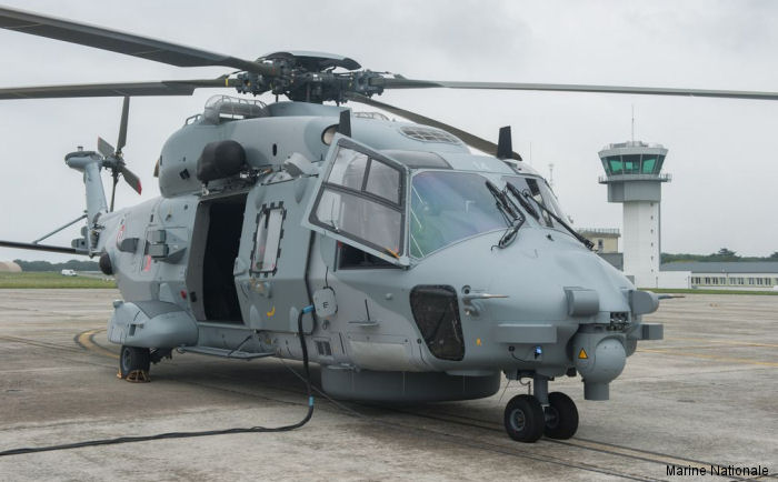Fourteen and last Step B NH90 NFH Caiman was delivered to the French Navy and assigned to the 33F Squadron
