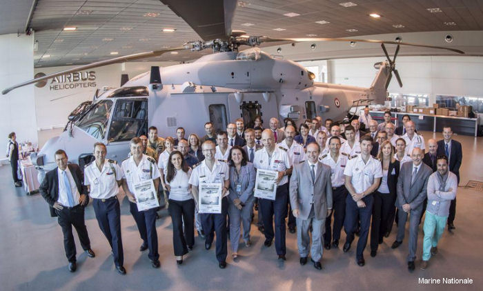 NHI Delivers 15th NH90 NFH Caiman Marine To The French Navy